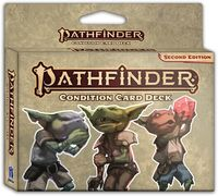 Pathfinder: Second Edition - Pathfinder Condition Card Deck (Role Playing Game) - Cover