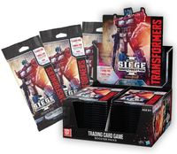 Transformers Trading Card Game - War for Cybertron Siege Single Booster (Trading Card Game) - Cover