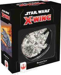 Star Wars: X-Wing Second Edition - Millennium Falcon Expansion Pack (Miniatures) - Cover