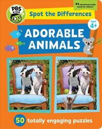 Spot The Differences: Adorable Animals - Georgia Rucker (Paperback) - Cover