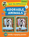Spot The Differences: Adorable Animals - Georgia Rucker (Paperback)
