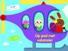 Plak en inkleur: Op pad met vakansie! - Ballon Media