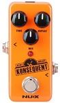 NUX Konsequent Mini Core Series Digital Delay Electric Guitar Mini Effects Pedal (Orange)