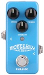 NUX Monterey Mini Core Series Uni-Vibe Electric Guitar Mini Effects Pedal (Blue)
