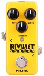 NUX Rivulet Mini Core Series Chorus Electric Guitar Mini Effects Pedal (Yellow)
