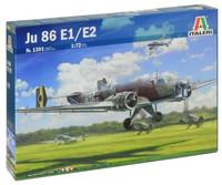 Italeri - 1/72 Ju-86 E1/E2 - Cover