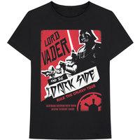 Star Wars - Darth Rock Two Men's Black T-Shirt (Large) - Cover
