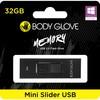 Body Glove Mini Slider USB 2.0 Flash Drive – 32GB