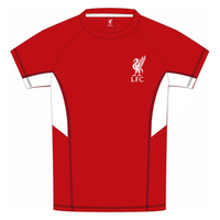 Liverpool - Red Panel Kids T-Shirt (10/11) - Cover
