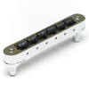Graphtech Resomax NV2 4mm Tune-O-Matic Bridge with String Save Saddles - Chrome (Special Order)