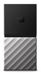 WD - My Passport USB 3.1 Portable Mini 2TB External Solid State Drive - Cover