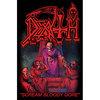 Death Scream Bloody Gore Textile Poster