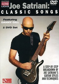 Joe Satriani - Classic Songs (Region 1 DVD) - Cover