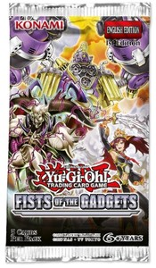 Yu-Gi-Oh! - Fist of the Gadgets Single Booster (Trading Card Game) - Cover