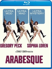 Arabesque (Region A Blu-ray) - Cover