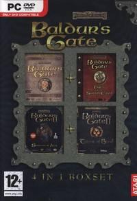 Baldur's Gate: 4 in 1 Boxset (PC) - Cover