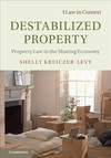 Destabilized Property - Shelly Kreiczer-levy (Hardcover)