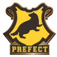 Harry Potter - Hufflepuff Prefect Enamel Badge - Cover