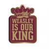 Harry Potter - King Weasley Enamel Badge