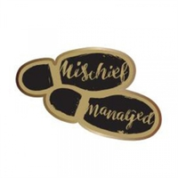 Harry Potter - Mischief Managed Enamel Badge - Cover
