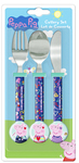 Peppa Pig - Play Cool Cutlery Set (3 Piece Set) Cover