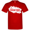 Liverpool Champions League Winners 18/19 Men's Red T-Shirt (X-Large)