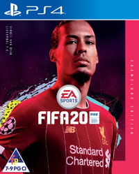 FIFA 20 - Champions Edition (PS4) - Cover