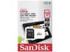 Sandisk - Ultra MicroSDXC 128GB UHS-I + SD Adapter