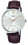 Casio Enticer Analogue Ladies Wrist Watch - Silver and Brown