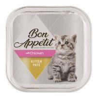 Bon Appétit - Chicken Paté Kitten Food (100g) - Cover