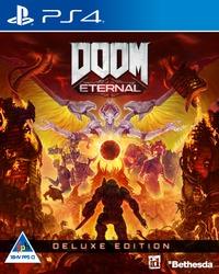 DOOM Eternal - Deluxe Edition (PS4) - Cover