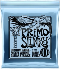 Ernie Ball 2212 Primo Slinky 9.5-44 Nickel Wound Electric Guitar Strings