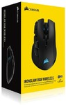 Corsair - IronClaw RGB Wireless Gaming Mouse (Wired or 2.4Ghz Wireless or bluetooth)