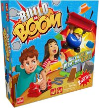 Build or BOOM (Board Game) - Cover