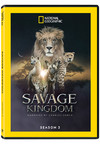 Savage Kingdom: Narrated By Charles Dance - Ssn 3 (Region 1 DVD)
