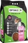 Optimizor - Premium Dry Puppy Food - Milky Bones + Chicken & Rice (7kg)