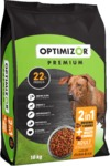 Optimizor - Premium 2in1 Dry Dog Food - Moist & Meaty Chicken & Rice (18kg)