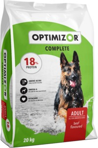 Optimizor - Complete Dry Dog Food - Beef (20kg) - Cover