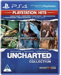 UNCHARTED: The Nathan Drake Collection - PlayStation Hits (PS4) - Cover
