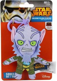 Jazwares - Star Wars - Zeb, mini plush figure with sound (Clip On) - Cover