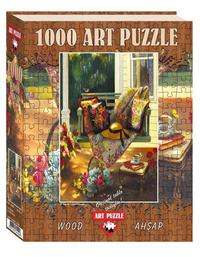 Art Puzzle - Summer Shade Wooden Puzzle (1000 Pieces)