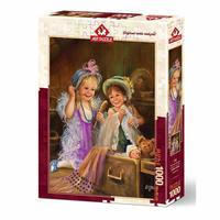 Art Puzzle - Beauties in Attic Puzzle (1000 Pieces)