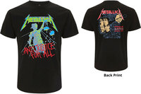 Metallica - And Justice For All (Original) Mens Black T-Shirt (X-Large) - Cover