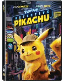 Detective Pikachu (DVD) - Cover