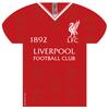 Liverpool - Shirt Shaped Metal Sign