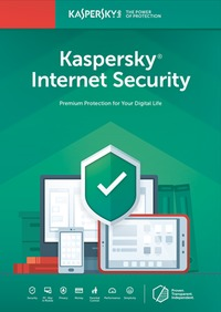 Kaspersky Internet Security 3 Devices 1 Year - Cover