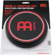 Meinl MPP-6 6 Inch Practice Pad (Black) - Cover