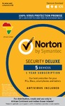 Norton Security Deluxe 5 Devices 1 Year