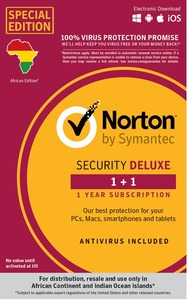 Norton Security Deluxe 1 Device 1 Year - Cover