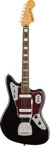 Squier Classic Vibe '70s Jaguar Electric Guitar (Black)